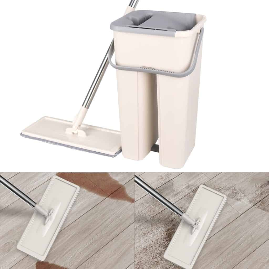 Home Economics Home Cleaning: Mop Bucket With Wringer