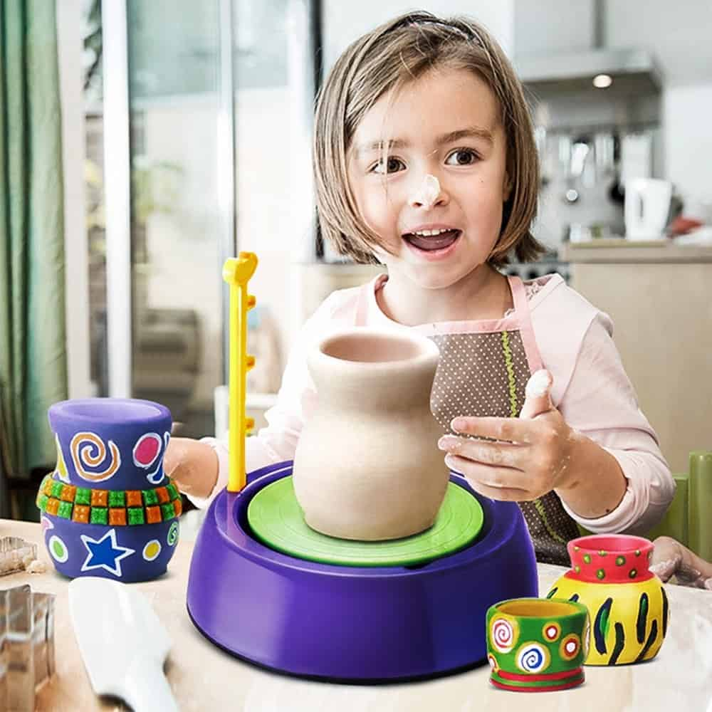Child Development In Home Economics: Pottery Wheel For Kids Educational Toy
